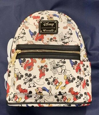 Disney Employee Center Mickey Mouse 90th Anniversary Loungefly Backpack LE 600