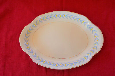 "Vintage APOLLO by W S George Radisson China 13 5/8"" Oval Serving Platter EUC"