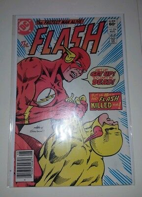 Flash # 324 - Death of Reverse Flash Professor Zoom VF Cond.