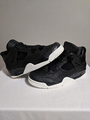 ef19c4cab46 Air Jordan 4 Retro Premium SIZE 8.5 - 819139-010 Pony Hair Croc PRM Pinnacle