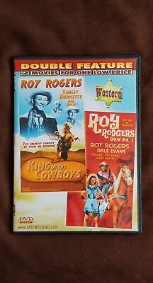 Double Feature King Of The Cowboys / Roy Rogers Show Vol. 1 (DVD,Slim Case)