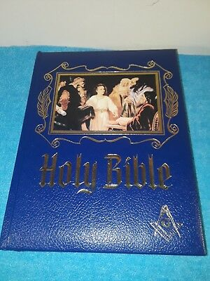Holy Bible Family Heirloom Edition Red Letter Edition Masonic Edition Masons