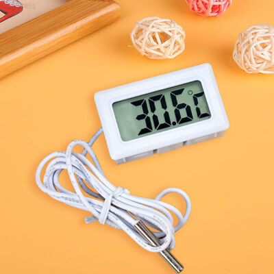 86DC LCD Embedded Digital Thermometer For Fridges TANK Temperature Home Kitchen