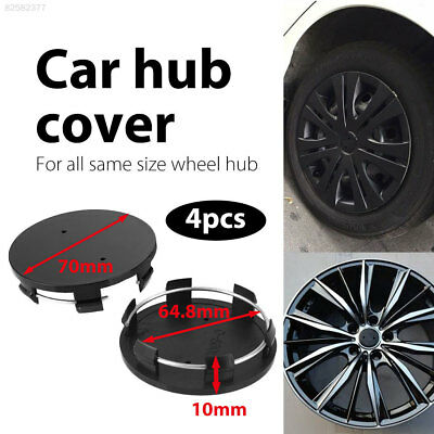 F340 E555 No Logo Premium Automobile for 70mm-64.8mm Car Accessories Dust Cover