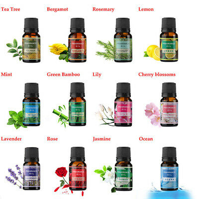 14 Type Fragrance Essential Oils for Air Diffuser Aroma Therapy Humidifier Mist