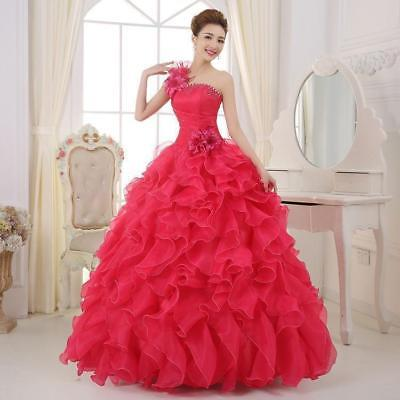 Quinceanera Dress Formal Prom Party Pageant Ball Dresses Bridal Wedding Gown qk