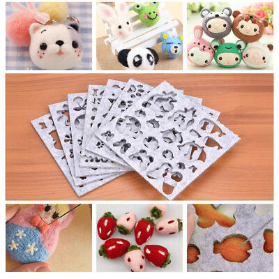 DIY Sewing Accessories Handicraft Needle Felting Wool Applique Molds Felt Mould