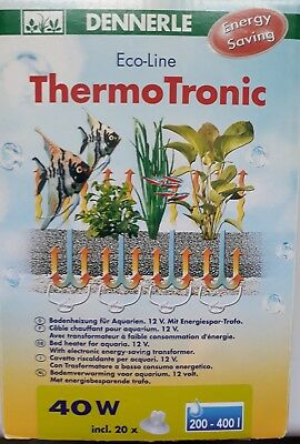 Cable chauffant Thermotronic 40W Dennerle