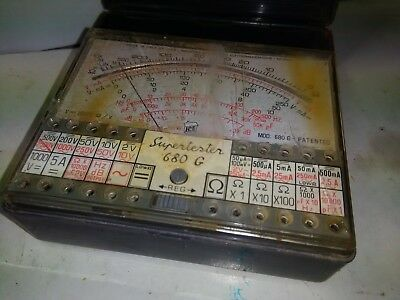 Tester analogico ICE - MILANO 680 G Supertester