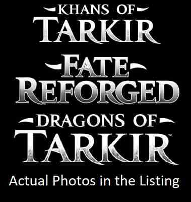 MTG Magic the Gathering Fate Reforged, Khans & Dragons of Tarkir Mix. C/U/R's