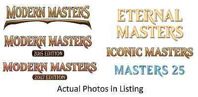 MTG Magic the Gathering Masters Mix, Modern, Eternal, Iconic, 25. Multi Listing