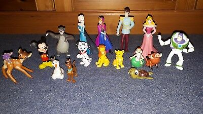 Bullyland cake toppers or similar figures disney some handpainted, Frozen