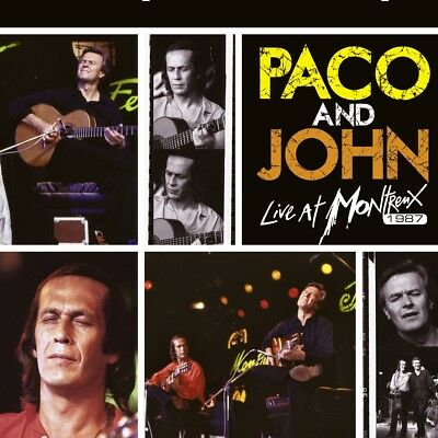 Paco de Lucia - Paco and John Live At Montreux 1987, 2 Audio-CD (Ltd.CD Edition)