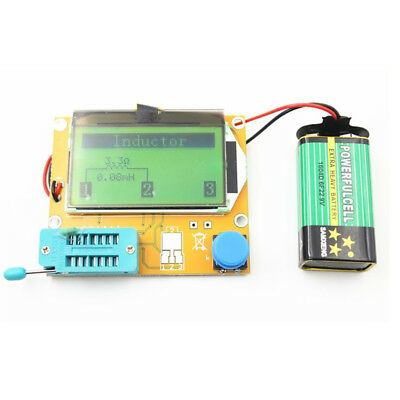 LCR T4 DIY Assembled Multifunction Graphic Transistor Tester Set Crystal Checker