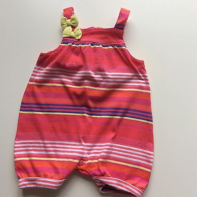 """🌺 Baby Girls Designer """"ted Baker"""" Summer All-In-One, Age 0-3, Vgc 🌺"""