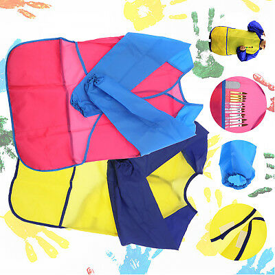 Waterproof Art & Craft Apron Smock for Children Kids Painting Drawing S/M