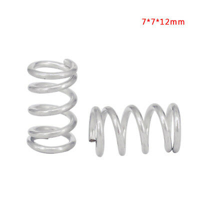 10Pcs 3D Printer Heatbed Heating Bed Adjustment Springs 7*7*12mm For Makerbot