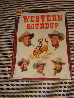 """Dell Comic Giant Sized """"western Roundup"""" #3, Plan For Murder Issue. Complete..."""