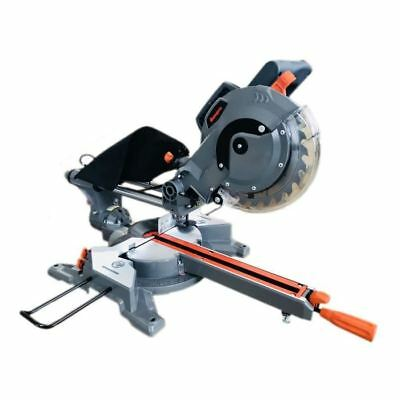 MANUPRO Scie a onglet radiale 2 lames multi matériau 210 mm S1/S6 1450/1650 W
