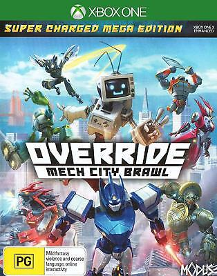 Override Mech City Brawl Super Charged Mega Edition For Microsoft XBOX One XB1