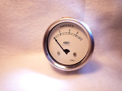 HOBUT 12A AMMETER classic ford rover vauxhall triumph bsa norton kit car