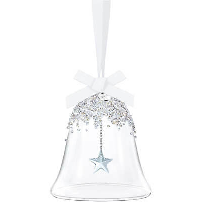 Swarovski CHRISTMAS BELL ORNAMENT 5221235 ANNUAL EDITION 2016 NEW & BOXED Fast D