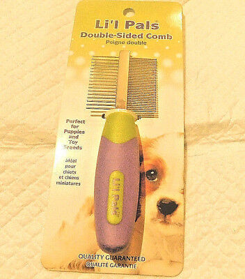 Li'l Pals Double-Sided Dog, Stainless Steel Comb