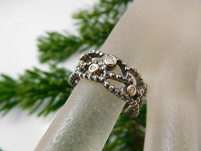 4104 || Exclusiver Original Pandora Ring 925 Silber mit Zirkonia bes. !
