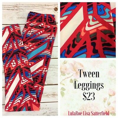 LulaRoe TWEEN Size Leggings NWT.  FREE SHIPPING via USPS.