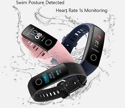 Huawei Honor Band 4 0.95 AMOLED 2.5D Smart Watch Swim Posture Detect Heart Rate