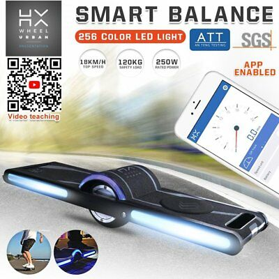 HX SurfWheel Off-Road Electric Skateboard Surfing Style One Wheel Scooter New