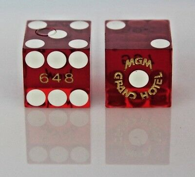 Pair of MGM GRAND Dice - Las Vegas