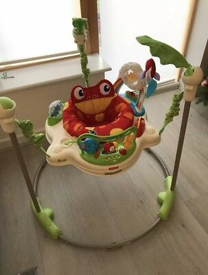 Jumperoo Ready To Go! Batteries In WORKING Excellent Condition