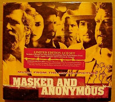 Masked And Anonymous - Music From The Motion Picture - Ltd Edition 2Cd Digipak -