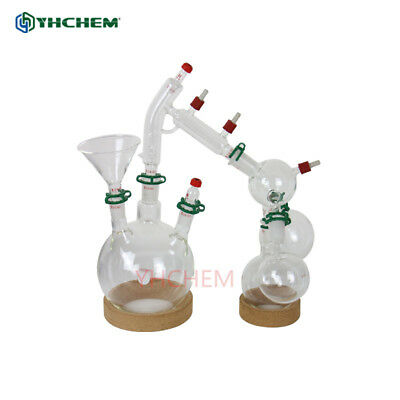 Lab glassware kit for short path distillation,2L