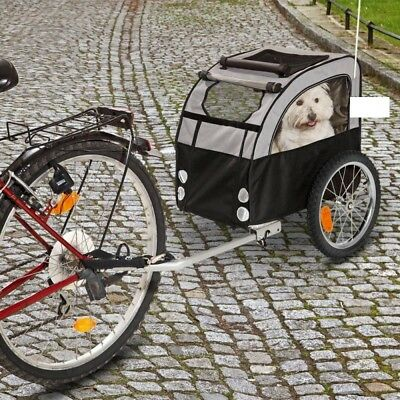 Durable Dog Bike Trailer - with Dirt and Water-Resistant Coating