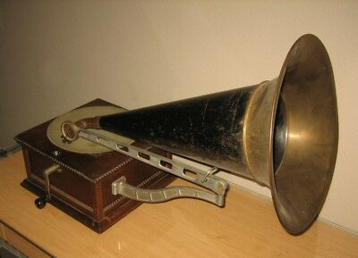 Columbia Type Ba Antique Graphophone Phonograph Disc Player!