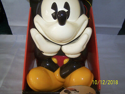 Cookie Jar Mickey Mouse Talks To You