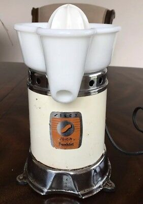 Vintage SUNKIST JUICIT Juicer- Handyhot - #2700-Chicago Electric Mfg. Co-Works!