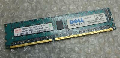 2GB Hynix Dell SNPJ160CC/2G PC3-10600E DDR3 2Rx8 ECC Unbuffered Server Memory