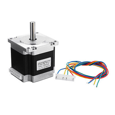 23HS5628 4-lead Nema 23 Stepper Motor 2.8A 8mm Shaft For 3D Printer CNC Part