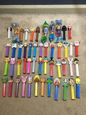 Lot Of 90's & 2000's Pez Candy - Star Wars, Looney Tunes, Marvel/DC