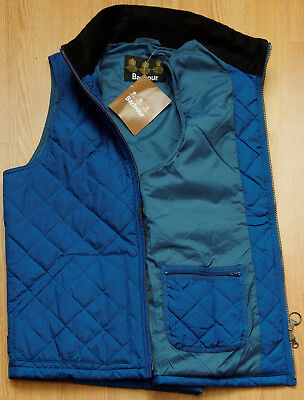 Barbour Retail  Bosun Quilted Gilet  Men's Vest L BL