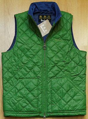 Barbour Retail  Bosun Quilted Gilet  Men's Vest M GN