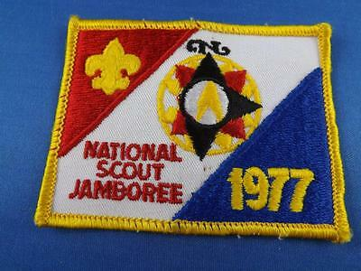 Boy Scouts Of America Bsa National Scout  Jamboree 1977 Vintage Patch Badge