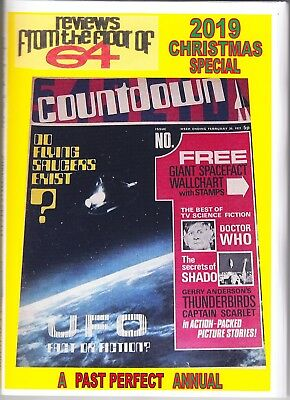 PAST PERFECT CHRISTMAS SPECIAL COUNTDOWN TV ACTION THUNDERBIRDS STINGRAY 100 pgs