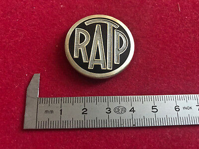 rare ancien insigne RATP medaille badge pins vintage collection
