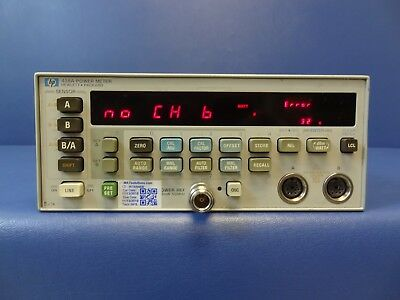 HP/Agilent 438A Dual Channel Power Meter - 100 kHz to 26.5 GHz
