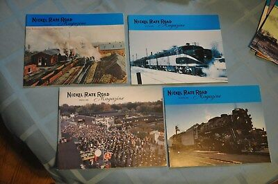 Lot of8 Nickel Plate Road Historical Society Magazines
