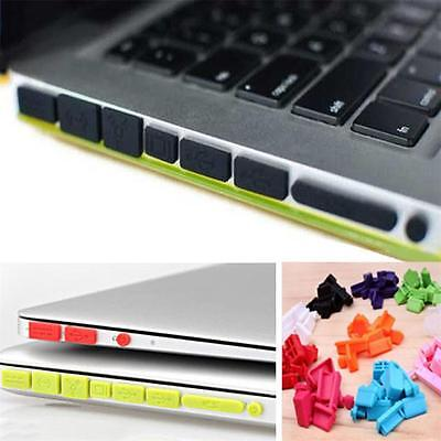 Silicone Rubber Anti-Dust Plug Cover Stopper for MacBook Air Retina11 13PorVN